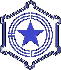 青い札幌市章