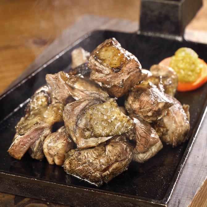 塚田農場の鶏の炭火焼